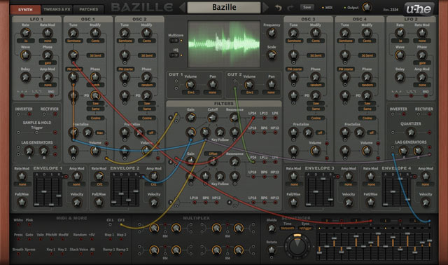 Bazille - Monster modular synthesizer
